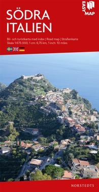 Södra Italien EasyMap : Skala 1:675.000
