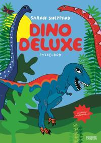 Dino deluxe : pysselbok med klistermärken