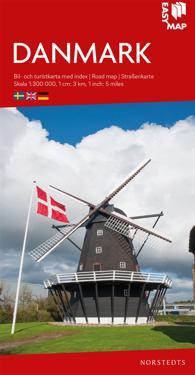 Danmark EasyMap : Skala 1:300.000