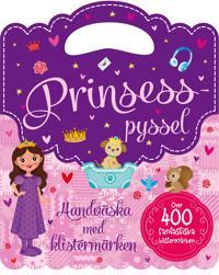 Prinsesspyssel : Handväska med klistermärken