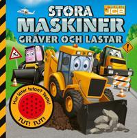 JCB: Stora maskiner gräver och lastar – med ljudknapp