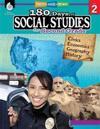180 Days of Social Studies for Second Grade (Grade 2): Practice, Assess, Diagnose
