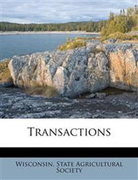 Transactions Volume 15