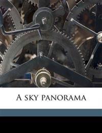 A sky panorama