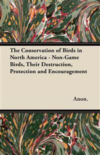 The Conservation of Birds in North America - Non-Game Birds, Their Destruction, Protection and Encouragement