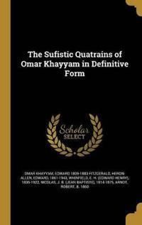 SUFISTIC QUATRAINS OF OMAR KHA