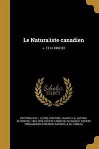 FRE-NATURALISTE CANADIEN V 13-