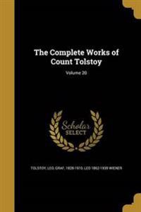 COMP WORKS OF COUNT TOLSTOY V2