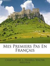 Mes Premiers Pas En Français