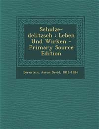 Schulze-delitzsch : Leben Und Wirken