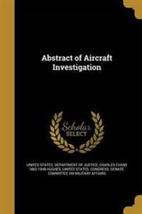 ABSTRACT OF AIRCRAFT INVESTIGA