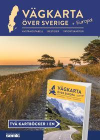 Vägkarta över Sverige + Europa