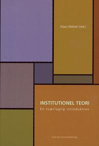 Institutionel teori