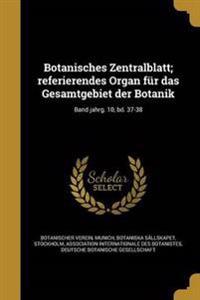 GER-BOTANISCHES ZENTRALBLATT R