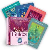 Ask Your Guides Oracle Cards: The Direct Link to Your Personal Psychic Support System: A 52-Card Deck with Guidebook