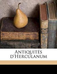 Antiquités d'Herculanum Volume 5