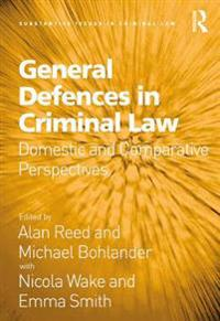 General Defences in Criminal Law