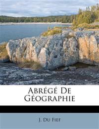 Abrégé De Géographie