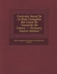Contrato Social De La Real Compañía Del Canal De Tamarite De Litera...