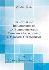 Structure and Relationship of an Echinorhynchus From the Gizzard-Shad (Dorosoma Cepedianum) (Classic Reprint)