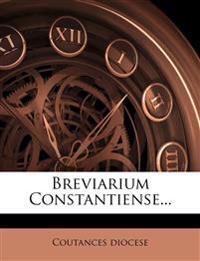 Breviarium Constantiense...