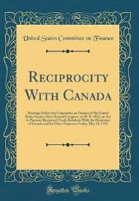 Reciprocity With Canada