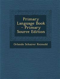 Primary Language Book