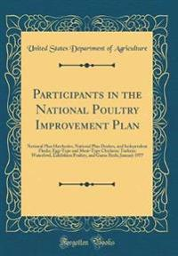 Participants in the National Poultry Improvement Plan