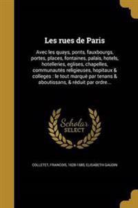 FRE-LES RUES DE PARIS