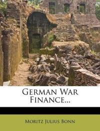 German War Finance...