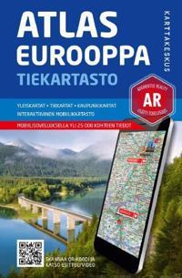 Atlas Eurooppa tiekartasto 1:800 00/1:100 000/1:5 milj.