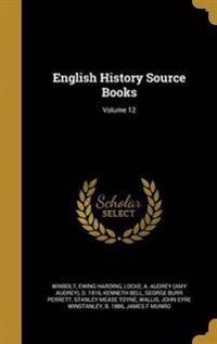 ENGLISH HIST SOURCE BKS V12