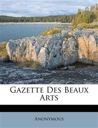 Gazette Des Beaux Arts
