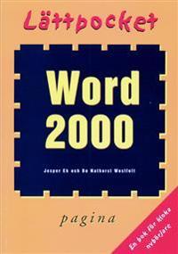Lättpocket om Word 2000