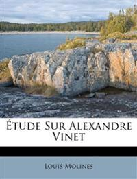 Étude Sur Alexandre Vinet