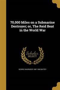70000 MILES ON A SUBMARINE DES