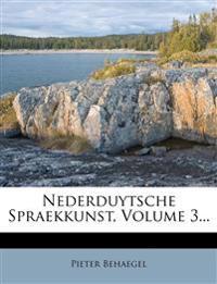 Nederduytsche Spraekkunst, Volume 3...