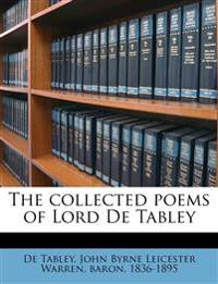 The collected poems of Lord De Tabley