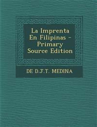 La Imprenta En Filipinas