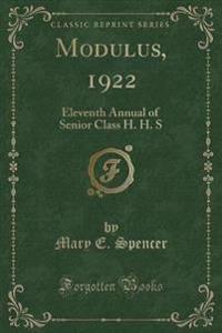 Modulus, 1922