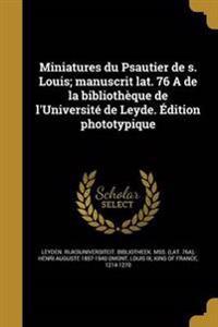 FRE-MINIATURES DU PSAUTIER DE