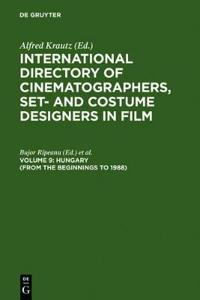 International Directory of Cinematographers, Set and Costume Designers in Film