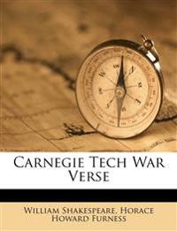 Carnegie Tech War Verse