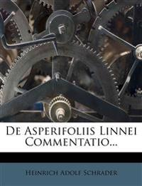 de Asperifoliis Linnei Commentatio...