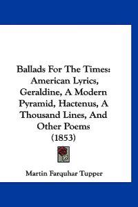 Ballads for the Times