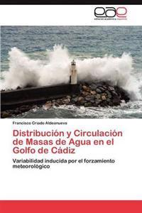 Distribucion y Circulacion de Masas de Agua En El Golfo de Cadiz