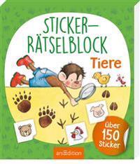 Sticker-Rätselblock Tiere