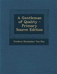 Gentleman of Quality
