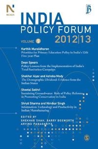 India Policy Forum 2012-13