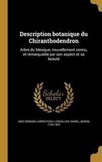 FRE-DESCRIPTION BOTANIQUE DU C
